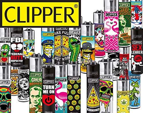Clipper  NewtonCat & CouchTomato Clipper Feuerzeuge Mix Bild