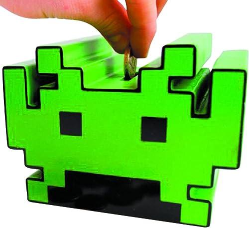 Entrega directa y rápida de fábrica Space Invaders Hucha con con con sonido  compras de moda online