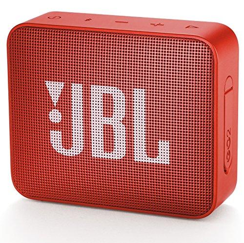 JBL GO2 Bluetoothスピーカー IPX7防水/ポータブル/パッシブラジエーター搭載 オレンジ JBLGO2ORG 【国内正規品/メーカー1年保証付き】