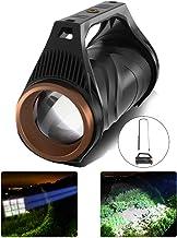 R507 XHP99 2500LM LED+COB Induction Powerful Long-Shot LED Spotlight Zoomable Handheld Flashlight for Night Fishing Huntin...