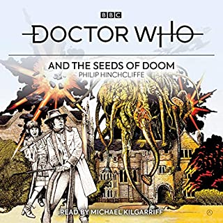 Doctor Who and the Seeds of Doom audiobook cover art