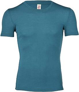 Engel 100% Merino Wool Men's T-Shirt Short Sleeved. Made in Germany.