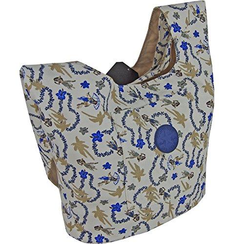 CONVERSE Umhängetasche SLING TOTE Schultertasche Handtasche Damentasche Hawaiian Print