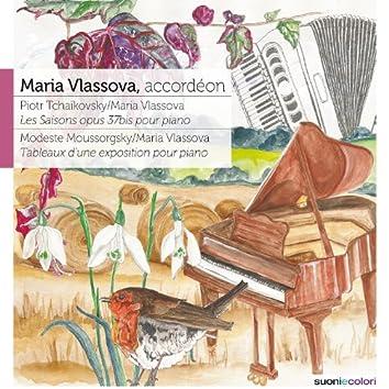 Tchaikovsky: Les Saisons, Op. 37b - Moussorgsky: Tableaux d'une Exposition pour Piano