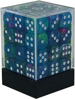 Chessex Festive 12mm D6 Dice Set Waterlily