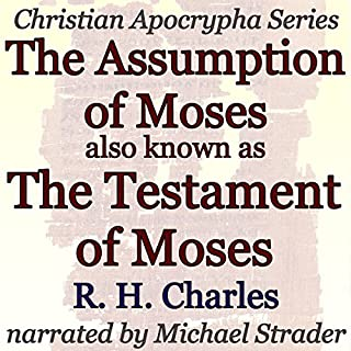 The Assumption of Moses, also known as The Testament of Moses cover art