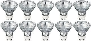 50 Watt GU10 Halogen Bulb 120 Volt 50w GU10 Halogen Light Bulb (Pack of 10)