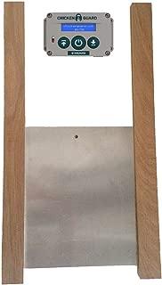 Standard Automatic Chicken Coop Pop Door Opener & Door Kit Combo   Outdoor/Indoor Auto Door Opener, Chicken Coop Accessories by ChickenGuard