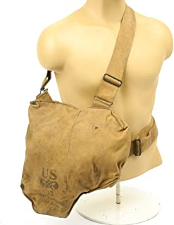 Original U.S. WWII M1VA1 Gas Mask Bag