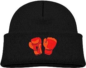 Child Red Boxing Gloves Beanie Cap Skull Hat Child Winter Warm Hat Unisex