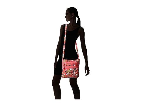 Vera Hipster Zip Iconic Triple Coral Bradley Floral qax0rqBwvI