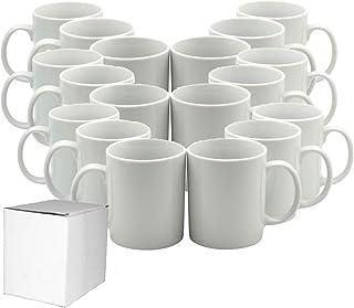 Tazas de café de cerámica con sublimación de 11 oz (36 unidades)