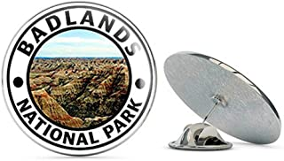 Round Badlands National Park (Hike Travel rv) Metal 0.75