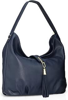 Women Tote Handbags Shoulder Bag Crossbody Bag Tassel Hobo Satchel Purse PU Leather