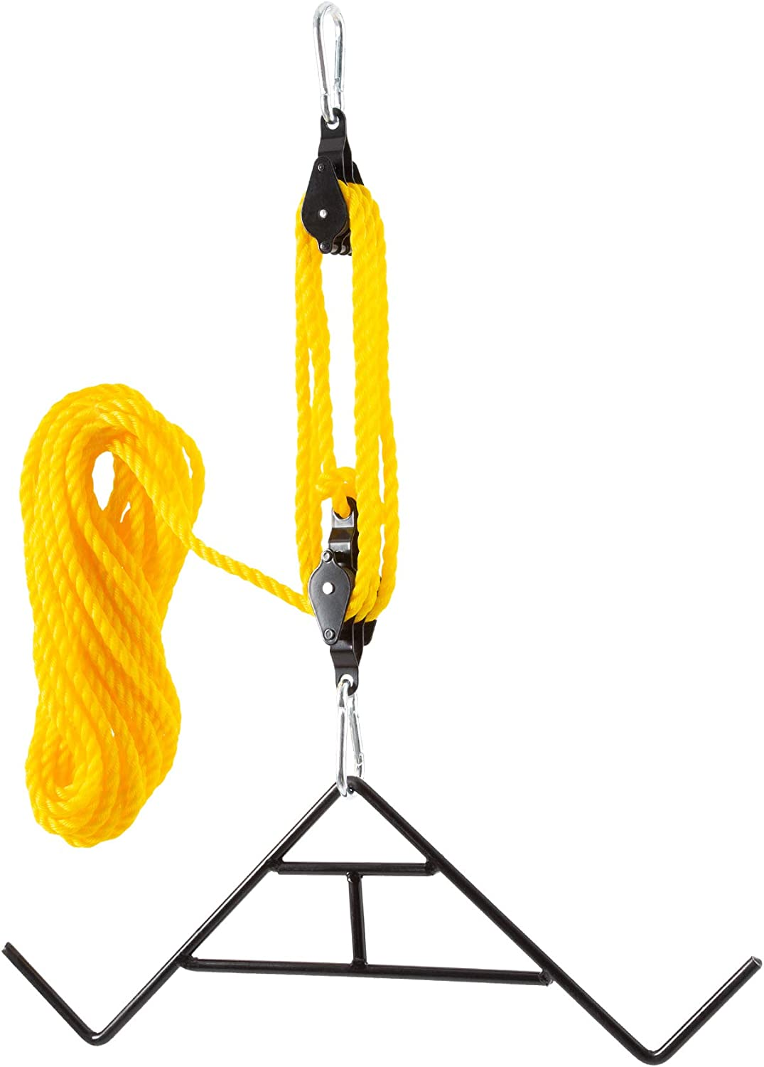 Branded goods Hiram unisex Game Hoist Gambrel with 6:1 Nylon R System of 55ft Pulley