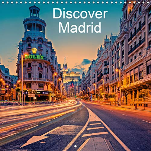 Discover Madrid (Wall Calendar 2020 300 × 300 mm Square) [Calendar] Photography, Hessbeck