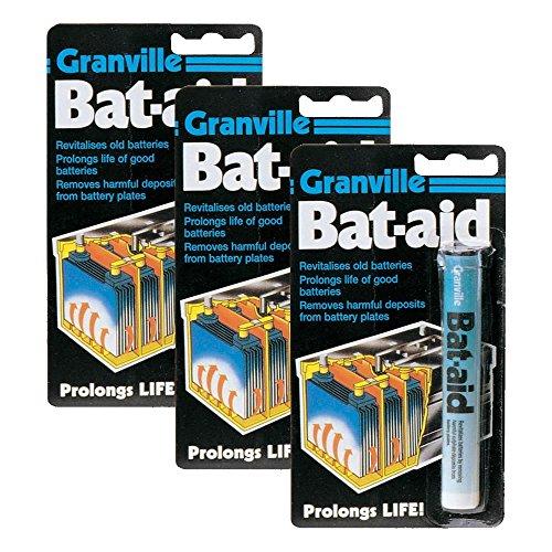 3 x Granville Bat-Aid Tablets - Revitalises Old Batteries   Prolongs Life