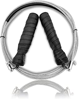 lele Speed Jump Rope - Easy to Adjust Length - Will not Kink& Anti Slip Handles Crossfit Speed Jump Rope