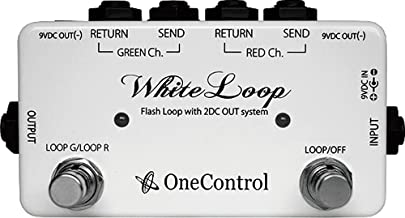 One Control White Loop Flash Switcher Pedal