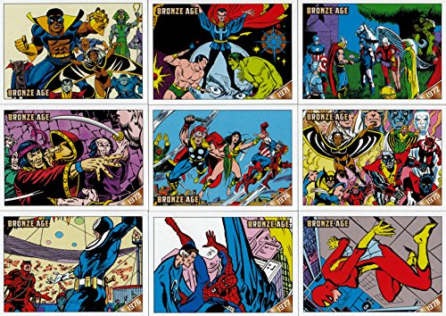 MARVEL BRONZE AGE (1970-1985) 2012 RITTENHOUSE ARCHIVES COMPLETE BASE CARD SET OF 81
