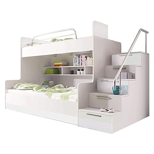 Bunk Beds With Stairs Amazon Co Uk