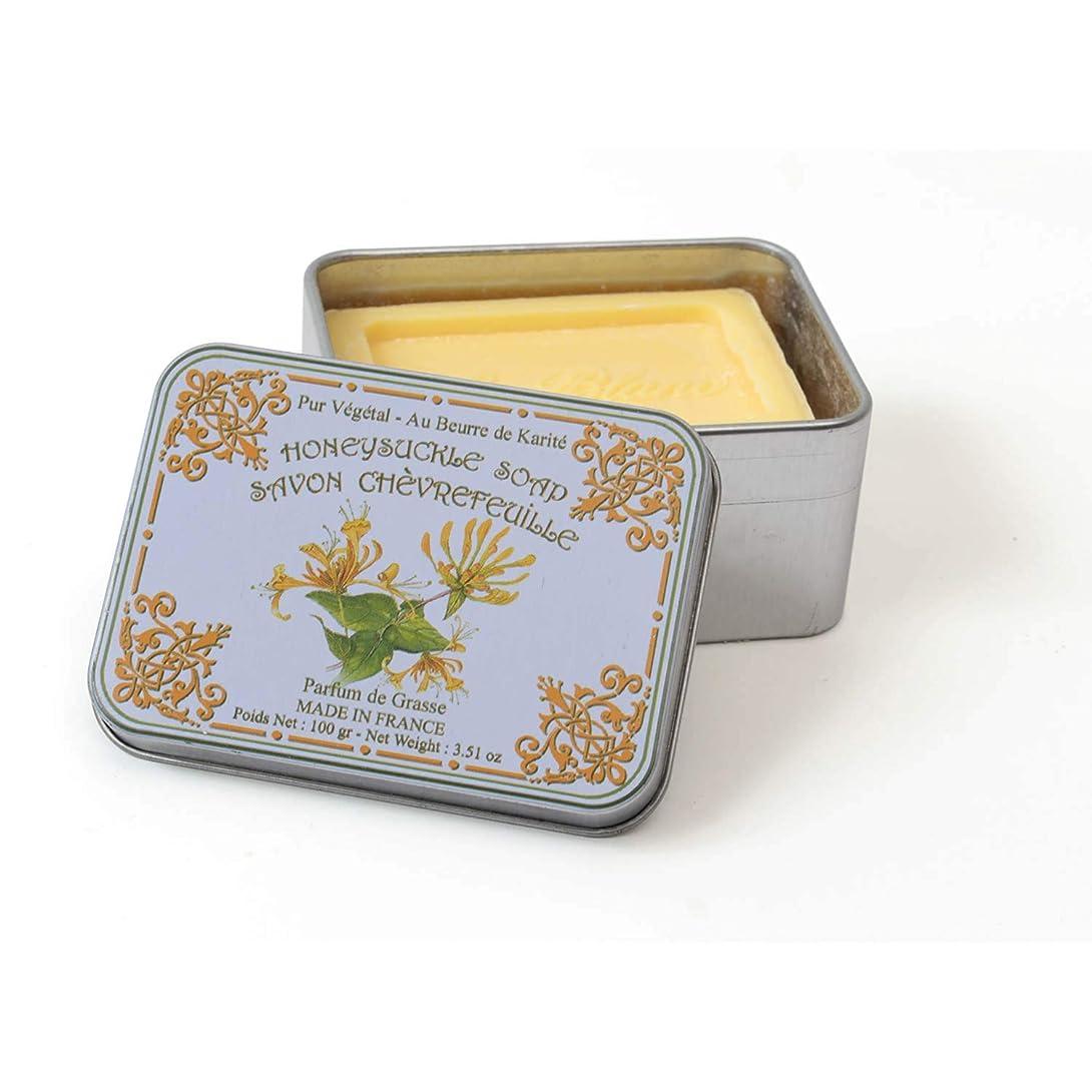 大洪水化石の間でLe Blanc ルブランソープ スイカズラの香り