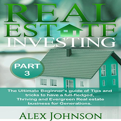 Real Estate Investing, Part-3 audiobook cover art