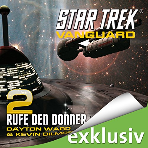 Star Trek. Rufe den Donner (Vanguard 2) audiobook cover art