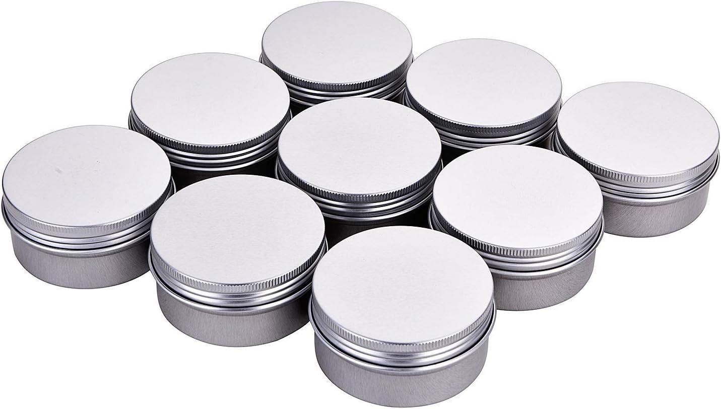 Fizz 3 oz. 12 Same day shipping Pack Metal Tins Storage Cans Jars Aluminum Ro Wholesale Bulk