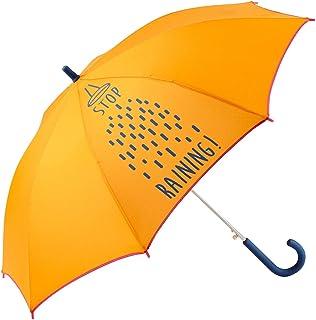 Paraguas Infantil niño/niña. Antiviento y automático. Dibujo Lluvia - Stop Raining - Naranja