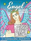 Engel Malbuch für Erwachsene: 30 wunderschöne Engelmotive