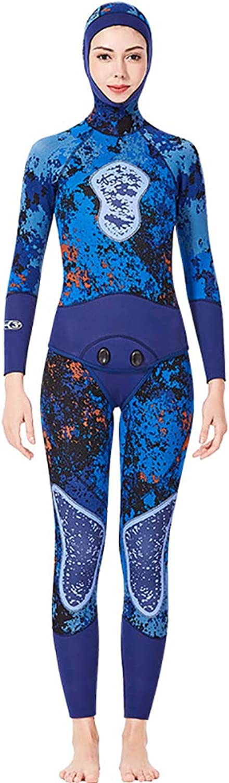 ZUZEN Camouflage Mnner Frauen 3 MM Neoprenanzug Unterwasserjagd Fischanzug Neoprenanzug zum Tauchen Surfen