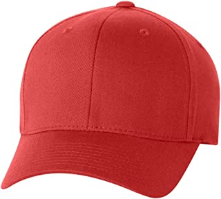 Flexfit Yupoong Wooly 6-Panel Twill Structured Cap