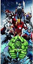 AYMAX S.P.R.L Marvel Avengers Badetuch, 70 x 140 cm