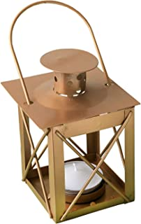 Love Lights The Way Luminous Lantern in A Matte Gold Finish (12)