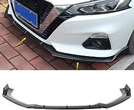 MotorFansClub 3pcs Front Bumper Lip for Nissan Altima 2019 Splitter Trim Protection Spoiler