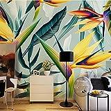 murimage Papier Peint 3D WallpaperTaille personnalisée 3D papier peint sud-asiatique peintures murales glaïeul fleur pour salon papiers peints décor à la maison 3d peintures murales plantes florales