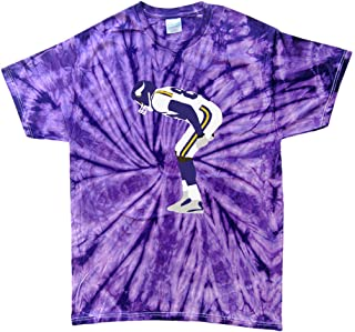 TIE-DYE Purple Minnesota Moss Mooning Crowd T-Shirt