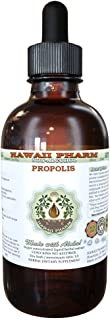 Propolis Alcohol-Free Liquid Extract, Raw Propolis Glycerite Natural Herbal Supplement, Hawaii Pharm, USA 2 fl.oz