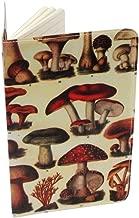 Wild Mushrooms Journal (Diary, Notebook) w/Moleskine Cahier Pocket Cover