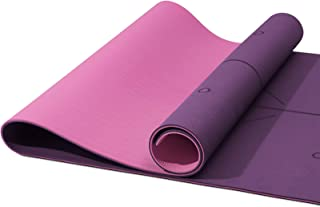 YXwin Yoga Mat, Classic 1/4 Inch Thick, Non Slip Pro Yoga...
