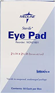 eye pad box