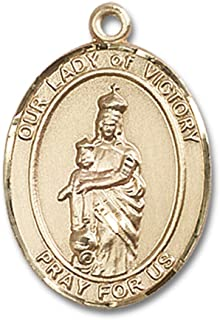 our lady of victory medal