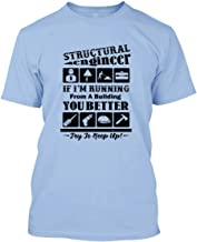 WHI-TS Novedad Custom T-Shirt Structural Engineer Hombre's T-Shirts