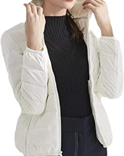 Womens Casual Slim Fit Warm Long Sleeve Hood Zipper Thickent Down Overcoats Coats
