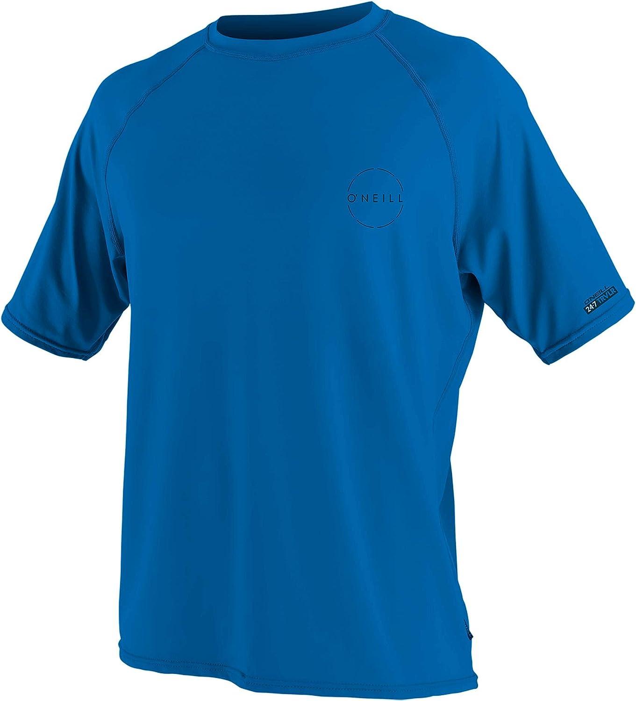 O'Neill Men's 24-7 Ranking TOP2 Traveler Upf Shirt Sun Sleeve 50+ Short Max 41% OFF