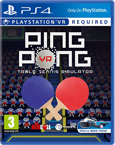 Ping Pong VR - Table Tennis Simulator (Tischtennis) (PlayStation VR)
