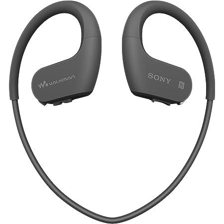 ソニー ヘッドホン一体型ウォークマン Wシリーズ NW-WS623 : 4GB スポーツ用 MP3プレーヤー Bluetooth対応 防水/海水/防塵/耐寒熱性能搭載 外音取込み機能搭載 ブラック NW-WS623 B