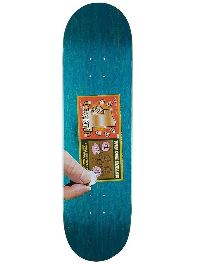 計算する氏納税者Skate Mental Green Kleppan Scratcher スケートボードデッキ 8.375インチ (デフォルト、グリーン)