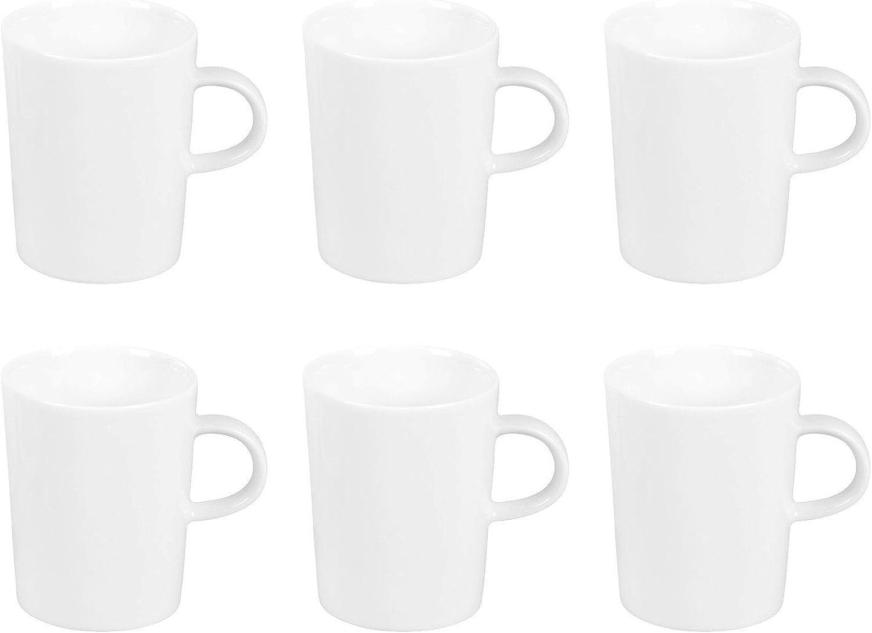 Arzberg Cucina Basic Weiss Kaffeebecher-Set 6tlg. B00PC6DX6K